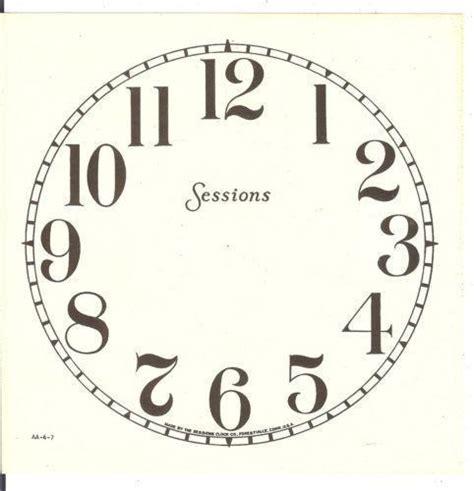 A Paper Clock - paper clock ebay