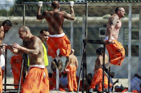 these prisoners are stronger than most guys at your