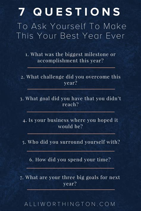 biography questions to ask 7 questions to ask yourself to make this your best year