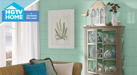 coastal cool color palette hgtv home by sherwin williams bathroom paint