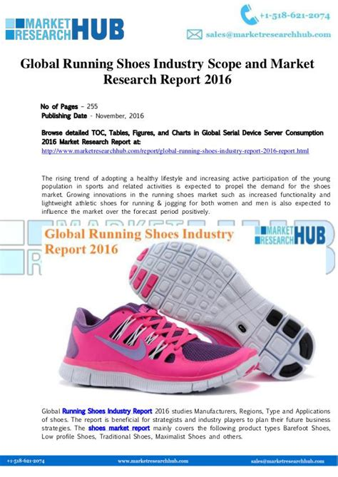 running shoe analysis market research report global running shoes industry scope