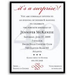 40th birthday invitation wording website of ciwunone