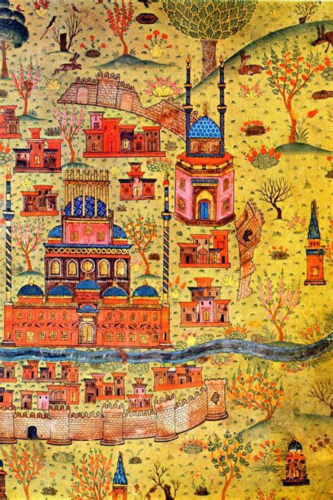 Ottoman Miniature Matrak 231 ı Nasuh Maps Cartes Ottoman Miniature Painting