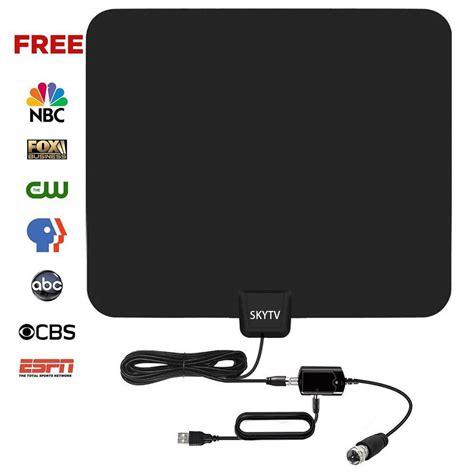 amazon black friday deal skytv indoor amplified digital tv antenna  mile range