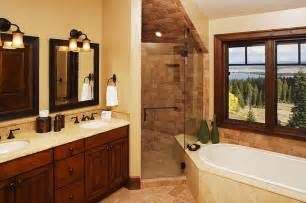 Modern Traditional Bathrooms Rustic Modern 5 Bathroom Traditional Bathroom Boise By Trillium Interior Design