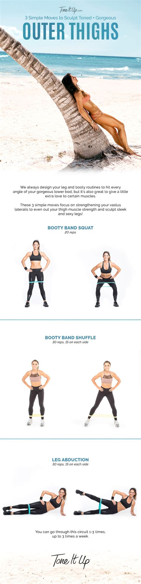Outer Thigh Workout At Home 3 We Do For Toned Outer Thighs Toneitup