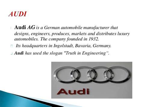 Audi Slogan by Audi Slogan Related Keywords Audi Slogan