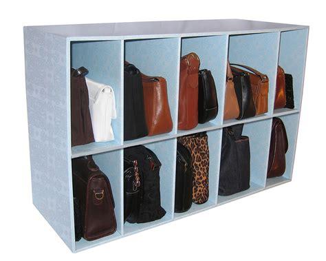 Handbag Closet Storage park a purse handbag holder heavy duty storage shelf organizer ebay