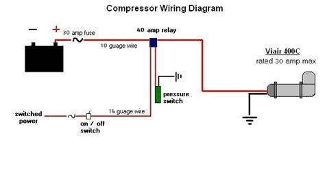 air pressure switch wiring diagram pressure switch wiring diagram air compressor 45 wiring