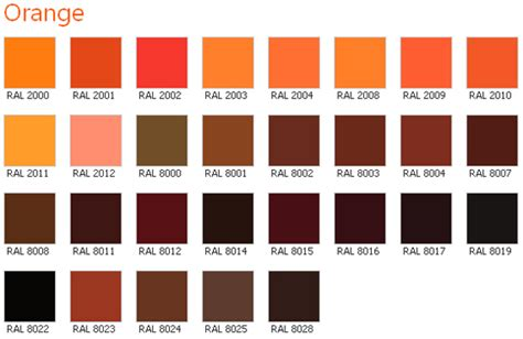 names of orange colors reddish orange color name pictures to pin on pinterest
