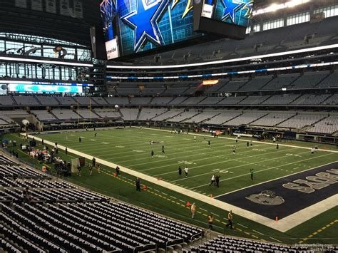 cowboys stadium sections at t stadium section 228 dallas cowboys rateyourseats com