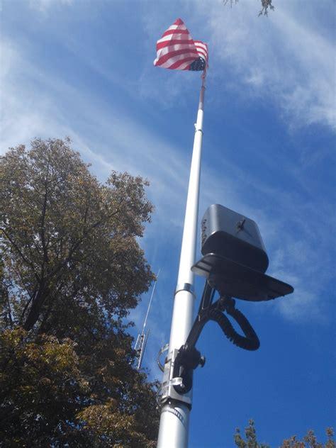 20 Ft Telescopic Aluminum Flagpole Product Details Commercial Solar Flagpole Light