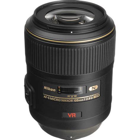 Lensa Nikon Macro 105mm nikon af s vr micro nikkor 105mm f 2 8g if ed lens 2160 b h