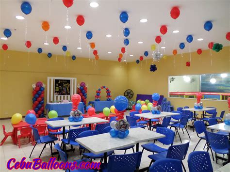 theme decoration transformers cebu balloons and party supplies