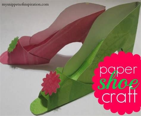 How To Make Paper Shoes - 10 ideas about paper shoes on box templates