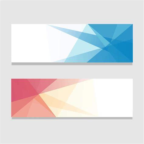 background banner abstrak  tampilan lanscape