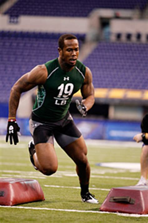 von miller bench press big 12 at the nfl combine linebackers big 12 blog espn
