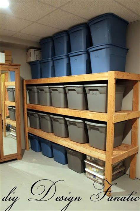 Garage Shelving Ideas 2x4 25 Best Ideas About Storage Shelves On Diy