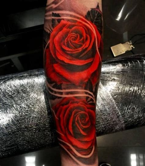 3d rose tattoo designs 3d on purple tattoos awesome