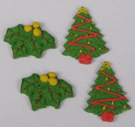 easy classy christmas tree from fondant product detail fondant tree mistletoe