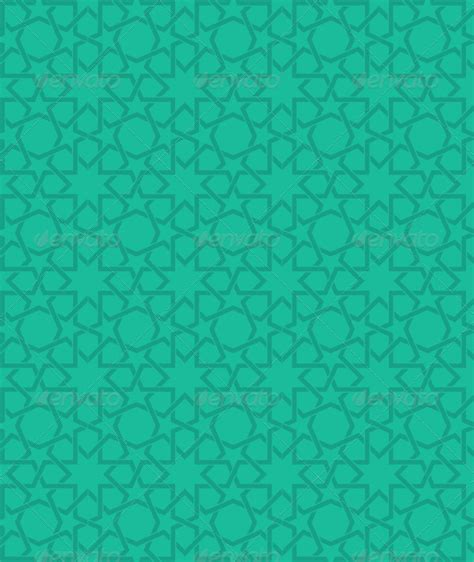 template koran photoshop islamic green star pattern by pixelstrawberry graphicriver