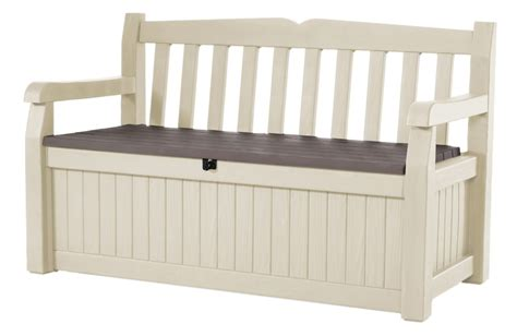 outdoor storage bench home depot jardin garden bench with storage the home depot canada