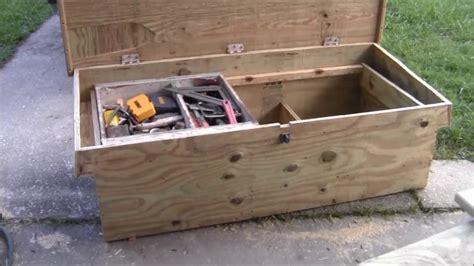 carpenters truck tool box youtube