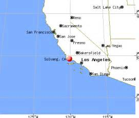 map of solvang california solvang california ca 93463 profile population maps