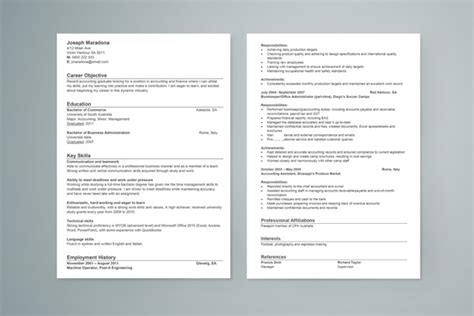 accounting resume graduate student 28 images sle