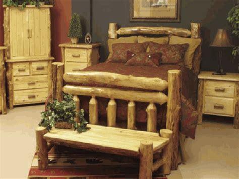 crazy log beds woodworking crazy rustic bedroom