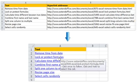 format excel as hyperlink excel 2010 remove hyperlinks multiple cells excel 2010
