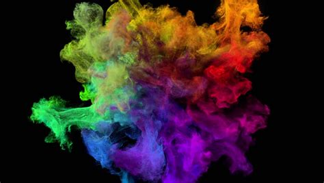 color explosion 3d explosion effect stock footage