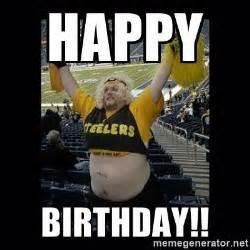 Steelers Fans Memes - happy birthday dumb steelers fan meme generator