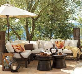 Pottery Barn Furniture by Outdoor Garden Furniture By Pottery Barn
