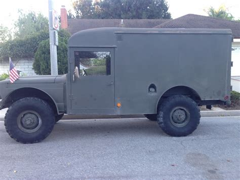 kaiser jeep for sale 1968 m725 kaiser jeep military ambulance for sale