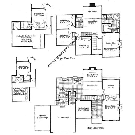 english manor floor plans english manor model in the beacon hill subdivision in