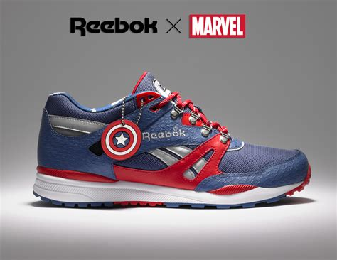 marvel shoes reebok x marvel limited edition footwear on behance