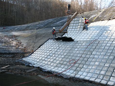 articulated concrete block mat revetment crofton industries