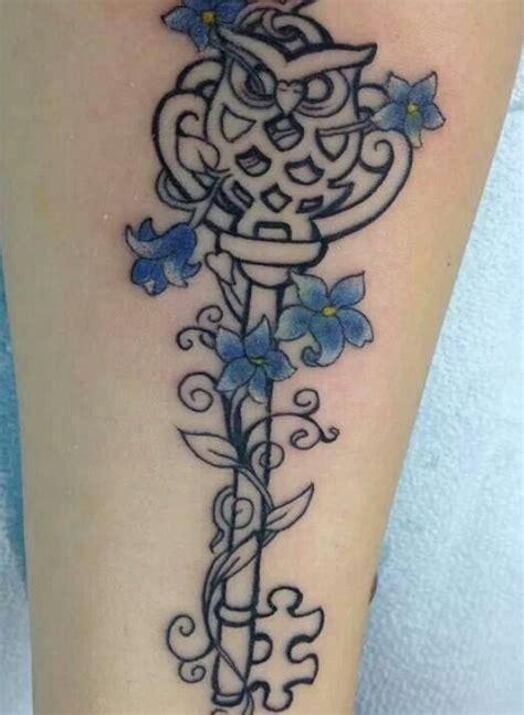 tattoo owl key owl key addicted to ink pinterest