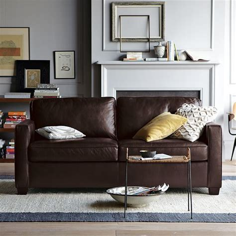 west elm henry leather sofa henry leather sofa west elm mom dads country place