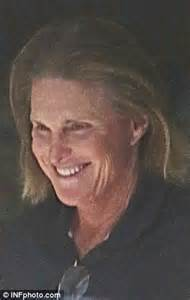 bruce jenner long hair bruce jenner s long locks look fried and faded as he steps