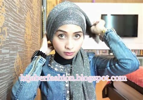 tutorial hijab cantik untuk pesta pintar pakai jilbab tutorial hijab praktis untuk pesta