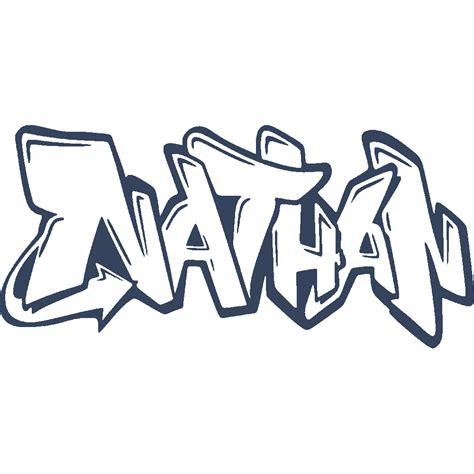 Wall Sticker Transparant 29 stickers nathan graffiti stick