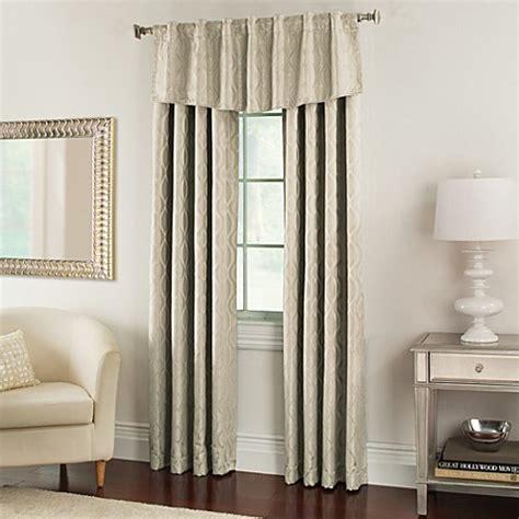 nova modern ascot window valance bedbathandbeyond com