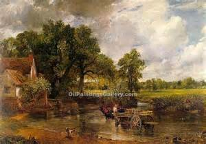 Landscape Artists Constable The Hay Wain By Constable Painting Id La 2932 Ka
