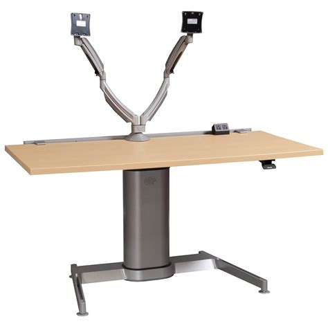 steelcase height adjustable desk steelcase used adjustable height table maple national