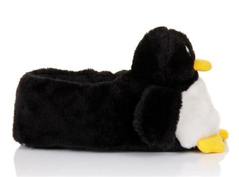 penguin slippers womens novelty 3d character plush penguin slippers