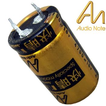 audio note electrolytic capacitor anek 430 4700uf 16v audio note kaisei electrolytic capacitor hifi collective