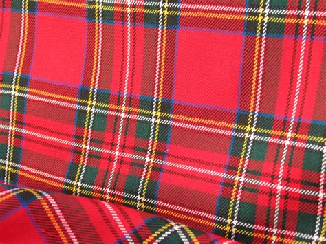 what is tartan plaid royal stewart royal stewart tartan fabric red plaid fabric