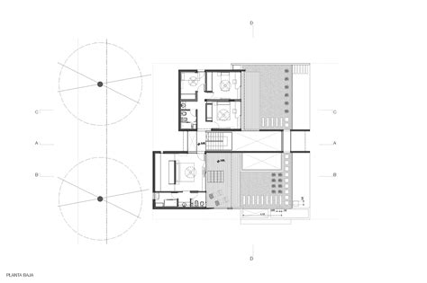 outdoor floor plan 289 sqm modern concrete house design with unique structure